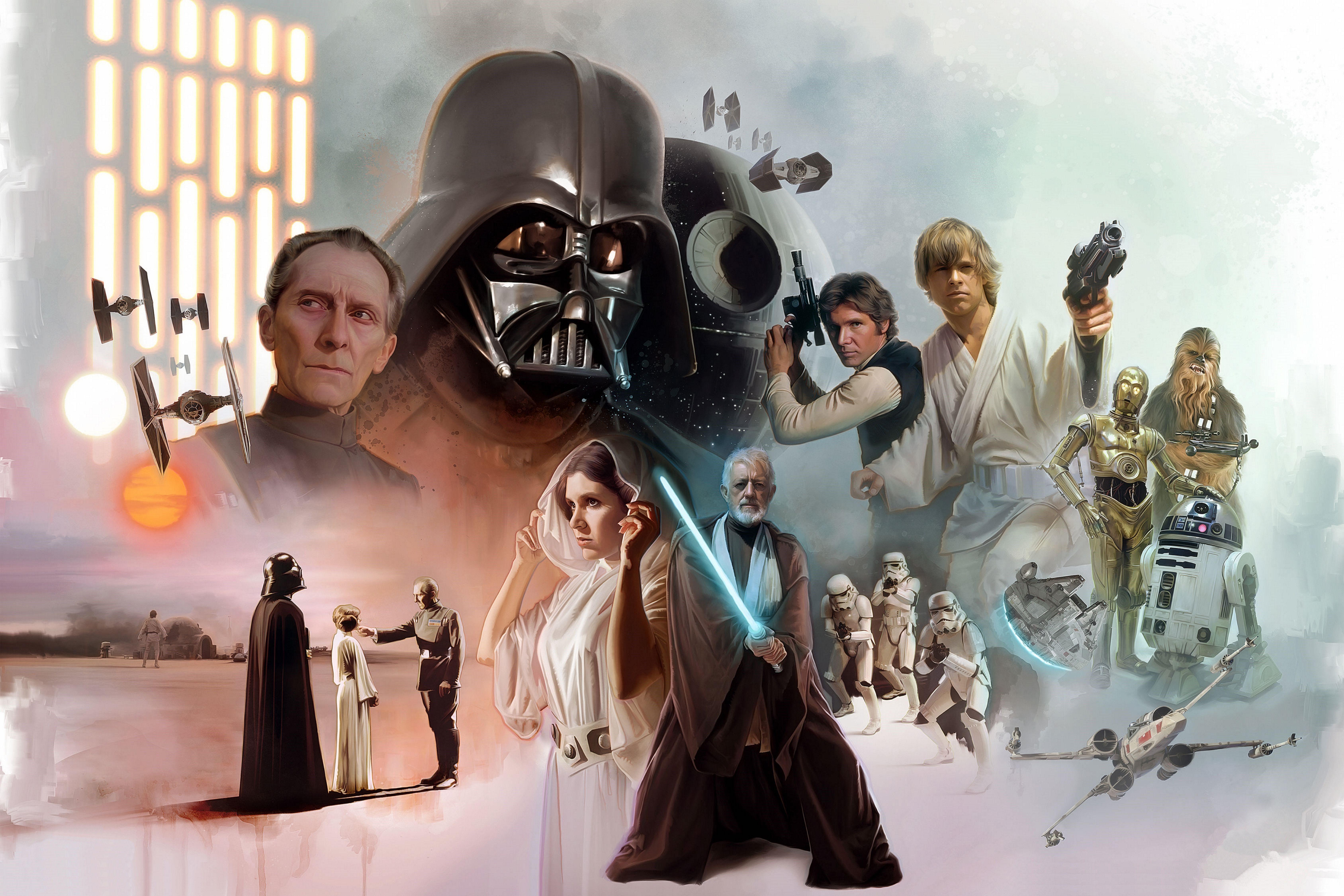 Star Wars Original Trilogy Wallpapers Top Free Star Wars Original Trilogy Backgrounds Wallpaperaccess