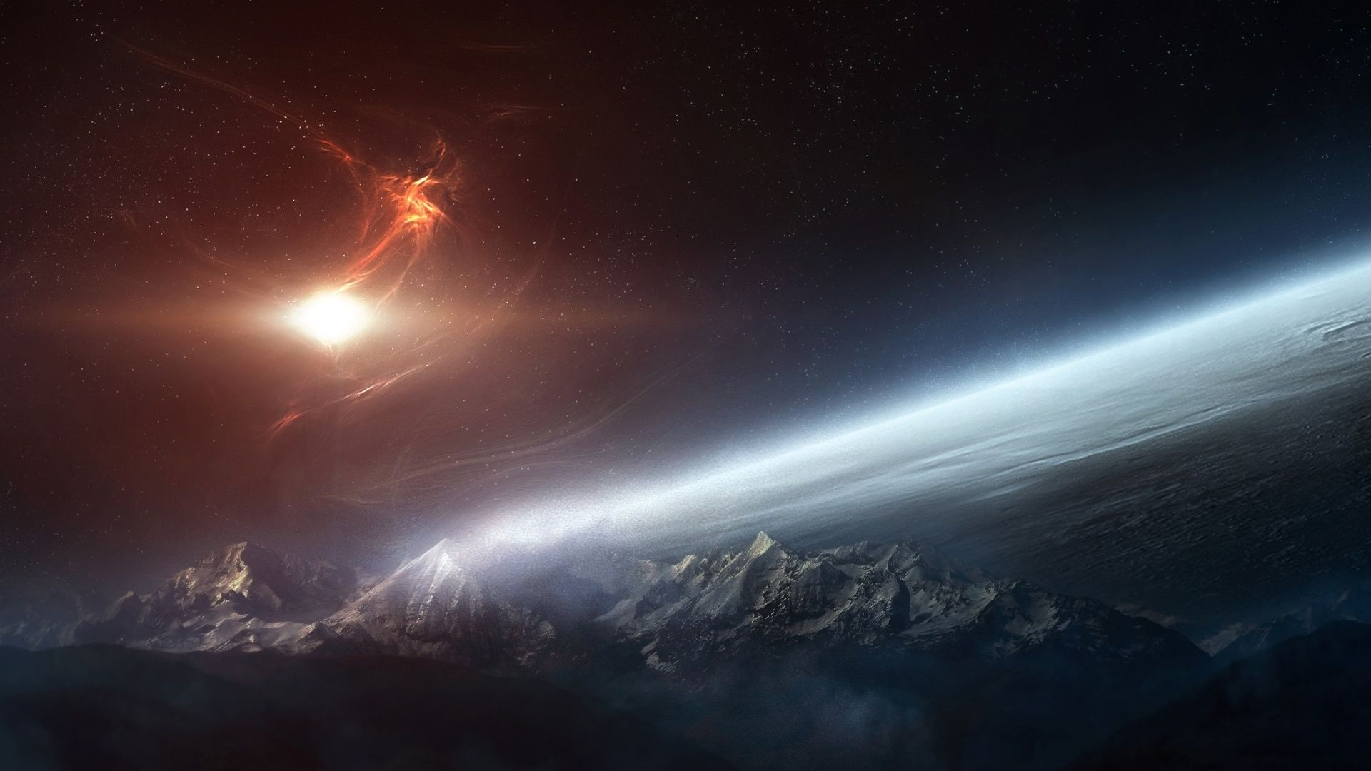 Space Pc Wallpapers Top Free Space Pc Backgrounds Wallpaperaccess