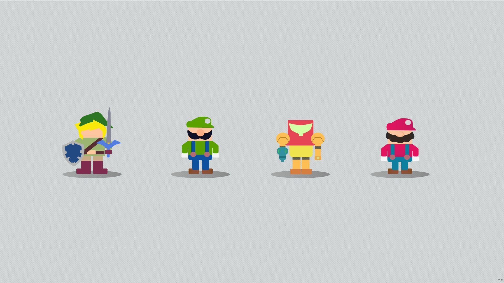 Nintendo Minimalist Wallpapers Top Free Nintendo Minimalist Backgrounds Wallpaperaccess