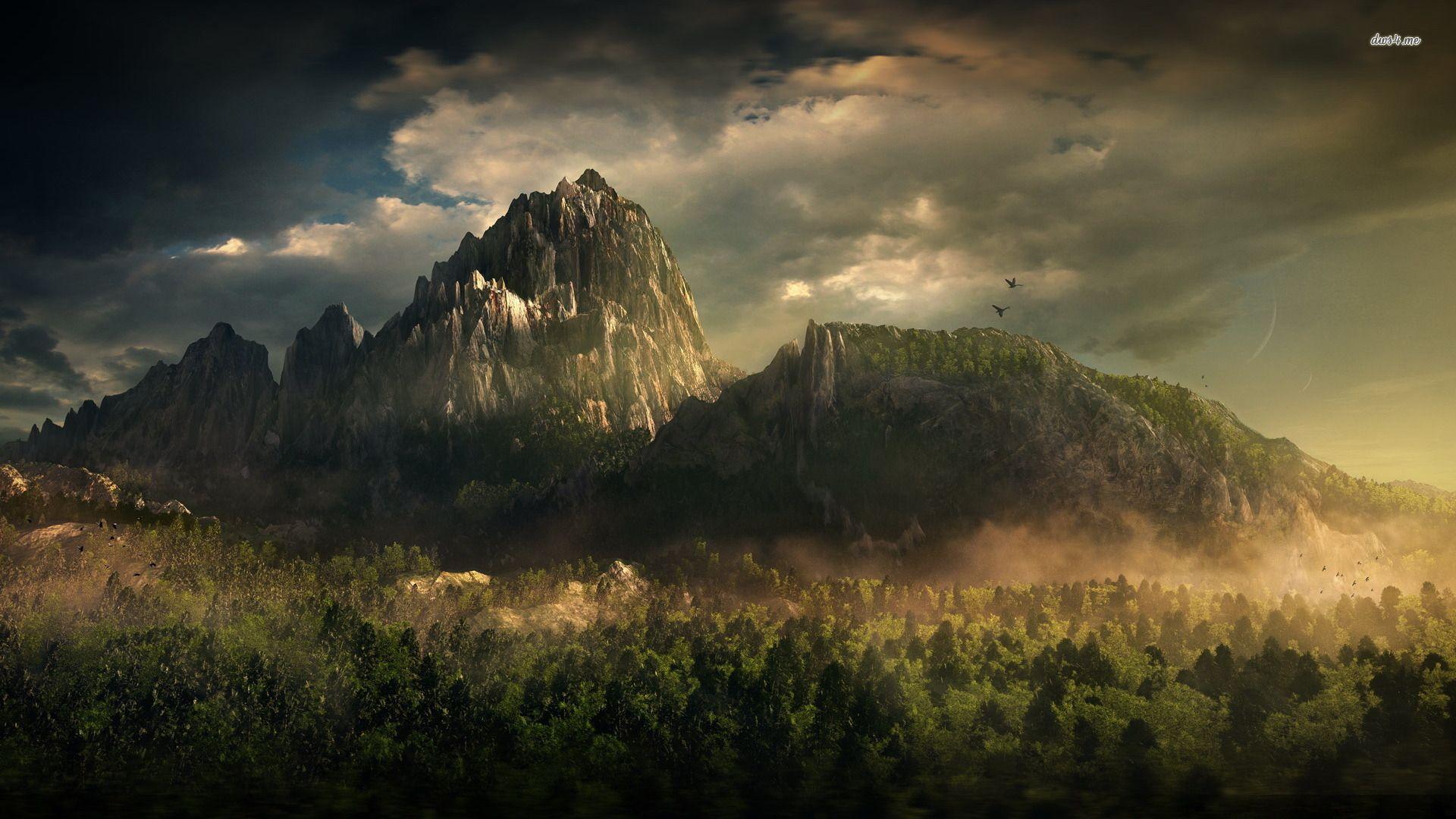 Dark Nature Wallpapers - Top Free Dark Nature Backgrounds