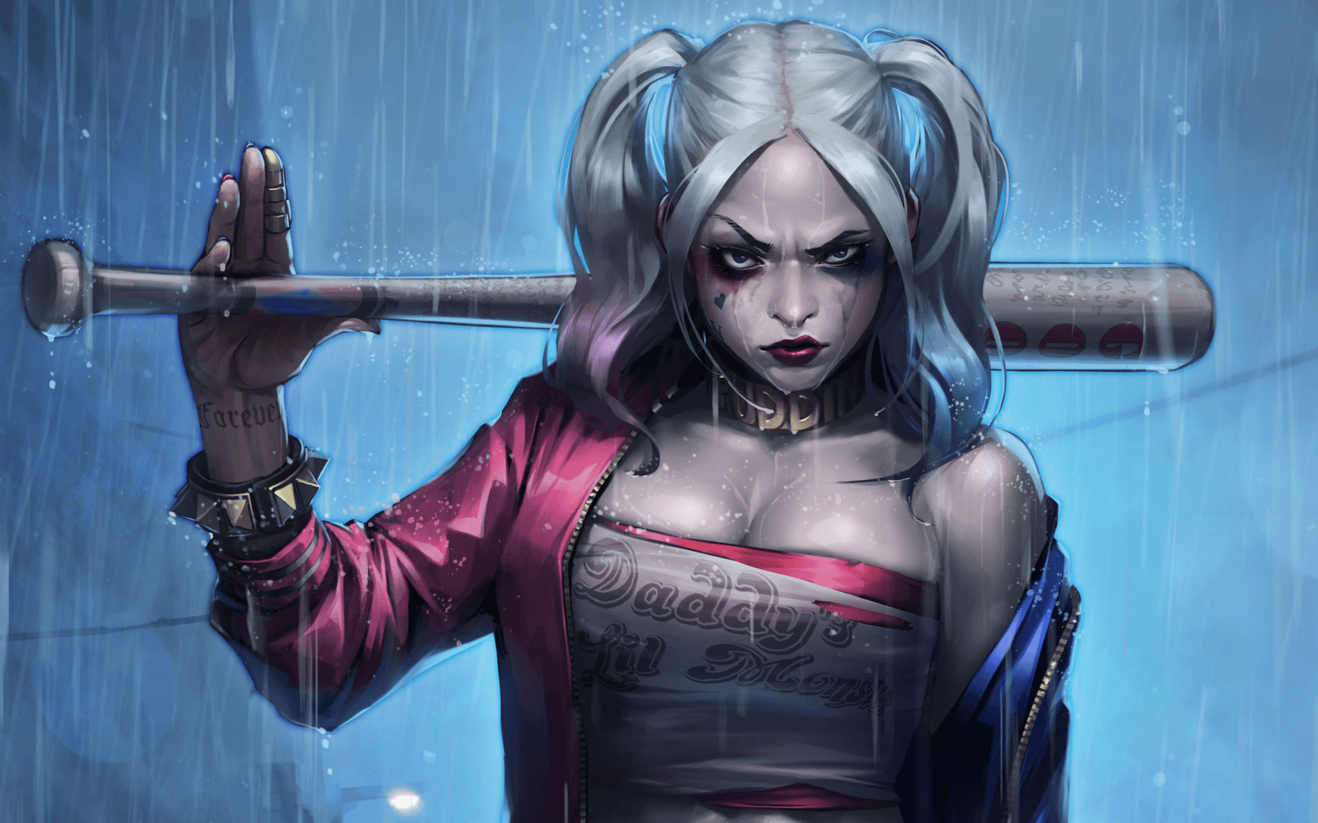Harley Quinn Wallpapers Top Free Harley Quinn Backgrounds Wallpaperaccess