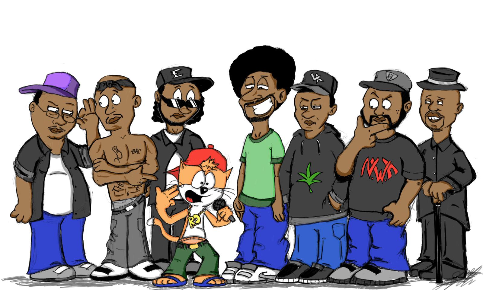 Eazy E Cartoon: Rap Cartoon Wallpaper Hd Labzada Wallpaper