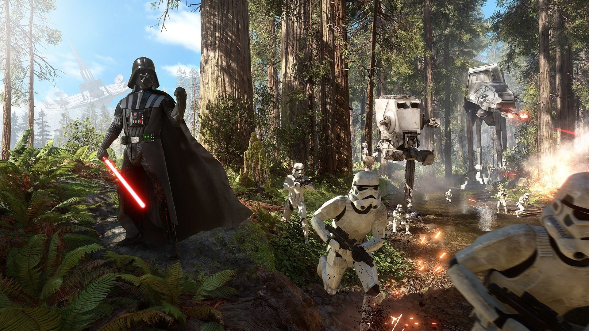 Battle Of Endor Wallpapers Top Free Battle Of Endor Backgrounds Wallpaperaccess