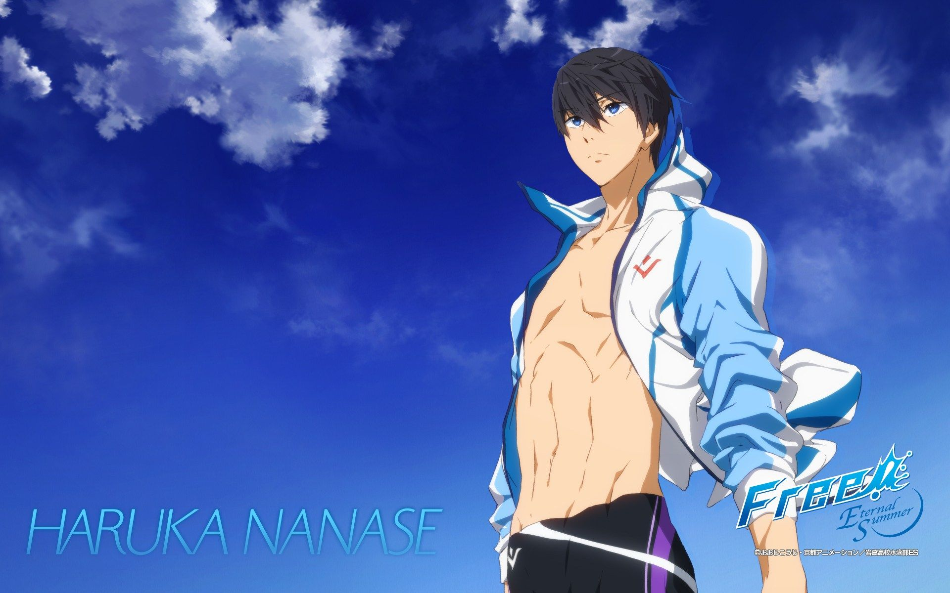 Haruka Nanase Wallpapers Top Free Haruka Nanase Backgrounds Wallpaperaccess