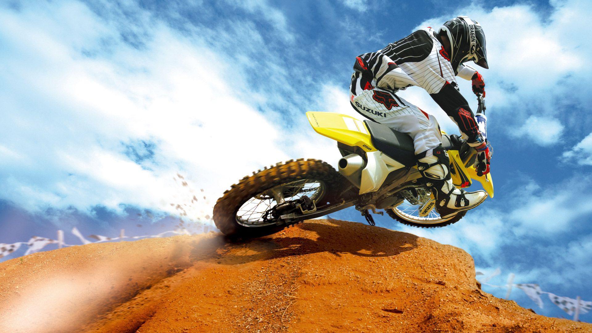 cool dirt bike wallpapers