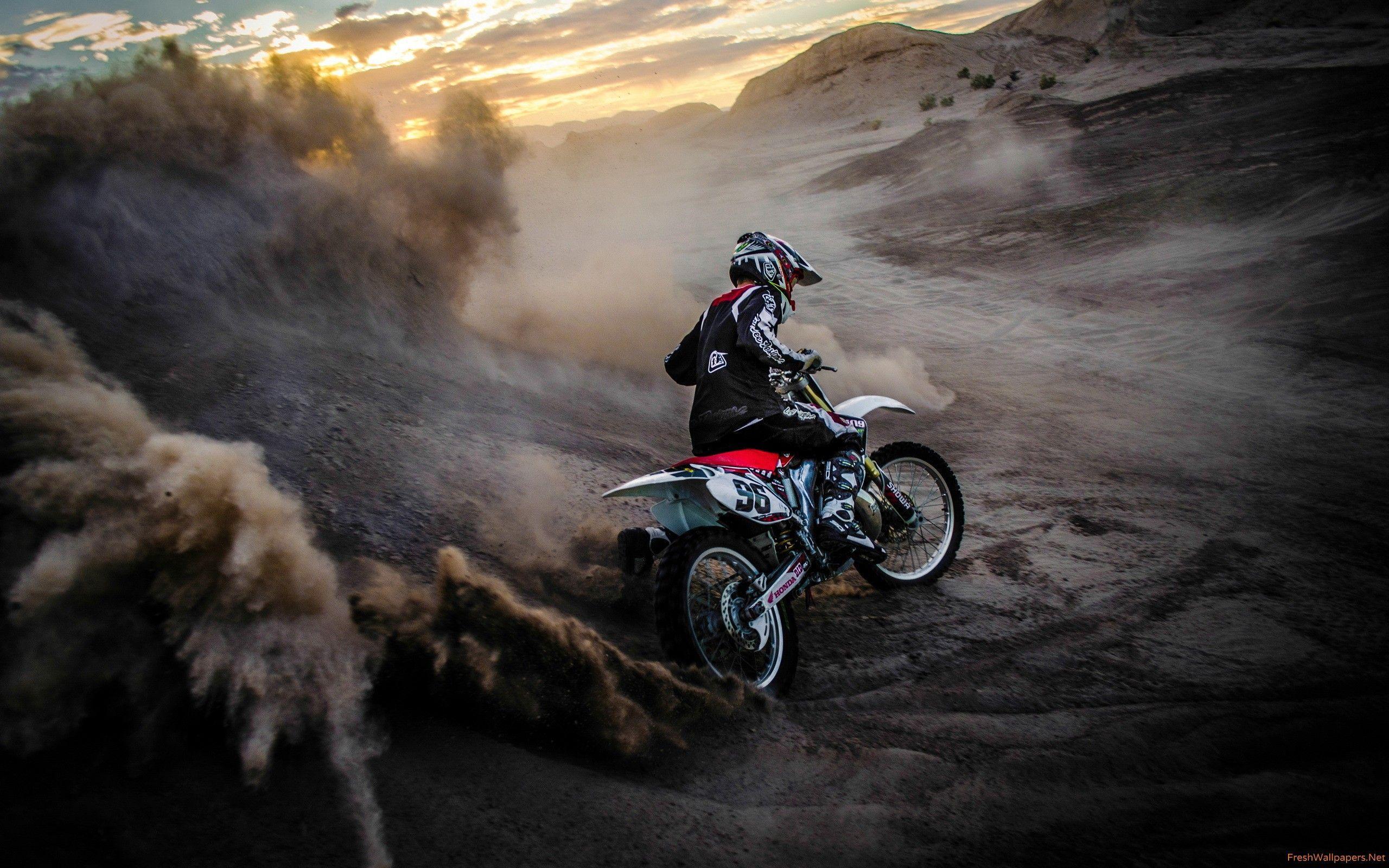 67 Best Free Honda Dirt Bike Wallpapers