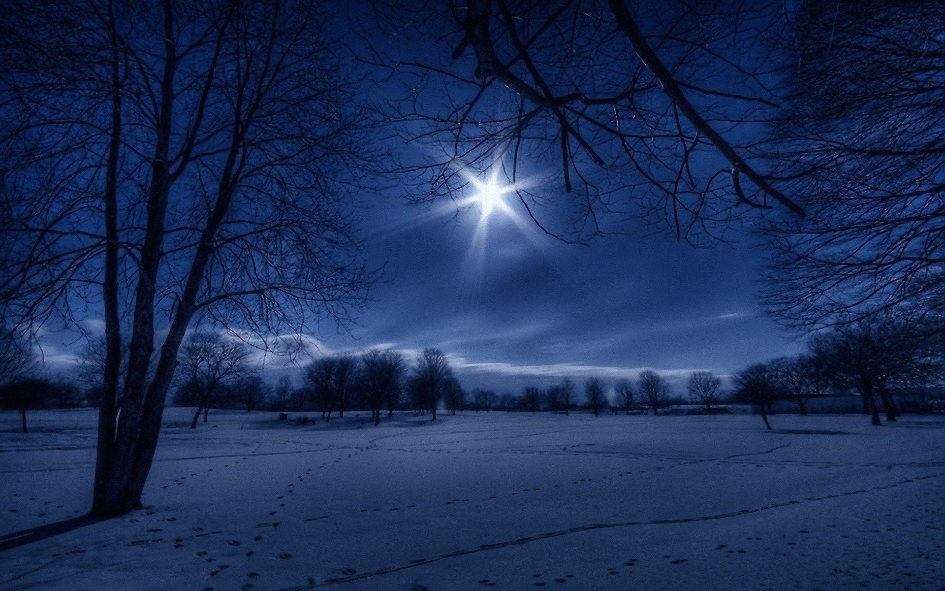 Winter Sky Wallpapers Top Free Winter Sky Backgrounds