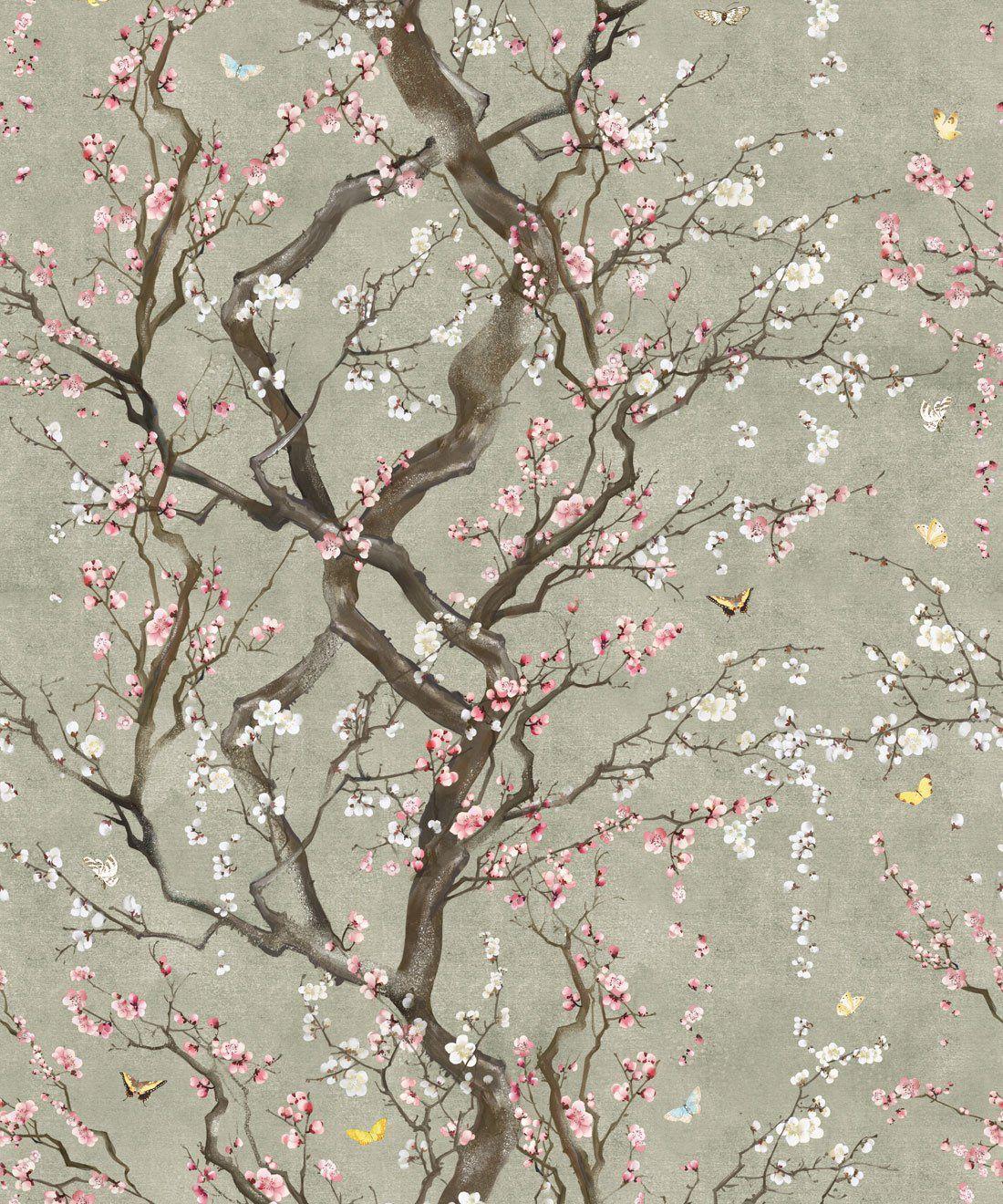 Hình nền 1100x1320 Bướm có hoa • Hình nền thiết kế • Milton & King