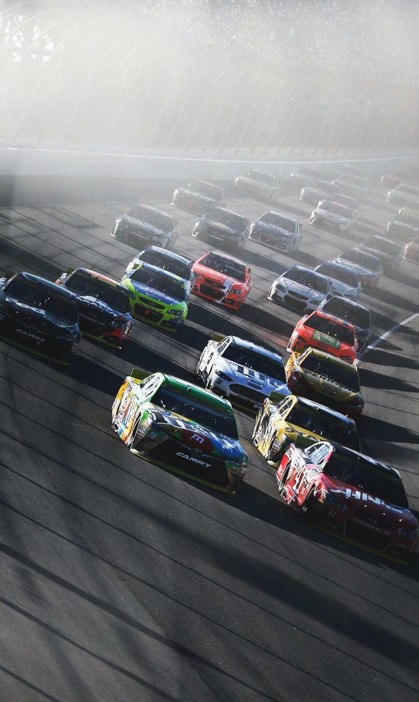 836x1401 NASCAR 2017 Wallpapers