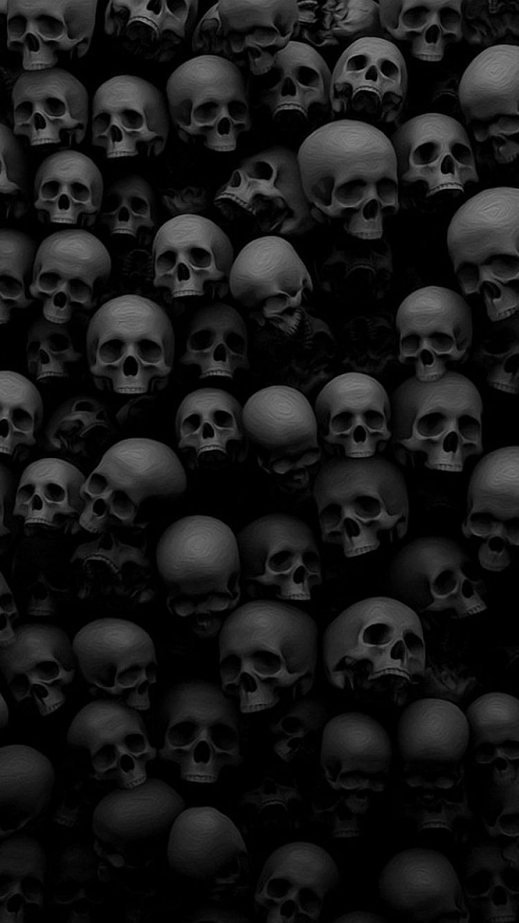 Skull Iphone Wallpapers Top Free Skull Iphone Backgrounds