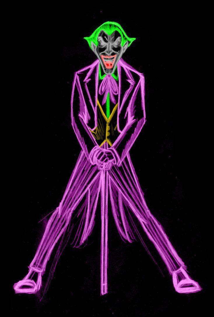 Neon Joker Wallpapers - Top Free Neon Joker Backgrounds ...