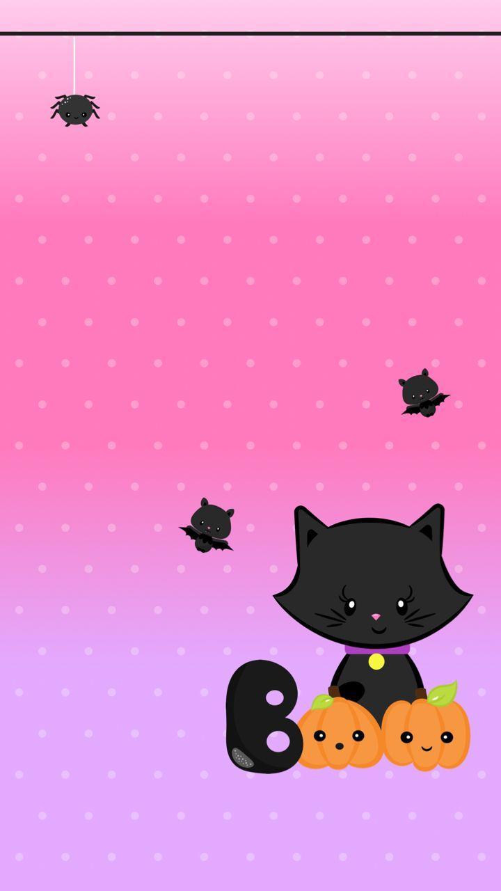 Kawaii Halloween Wallpapers Top Free Kawaii Halloween