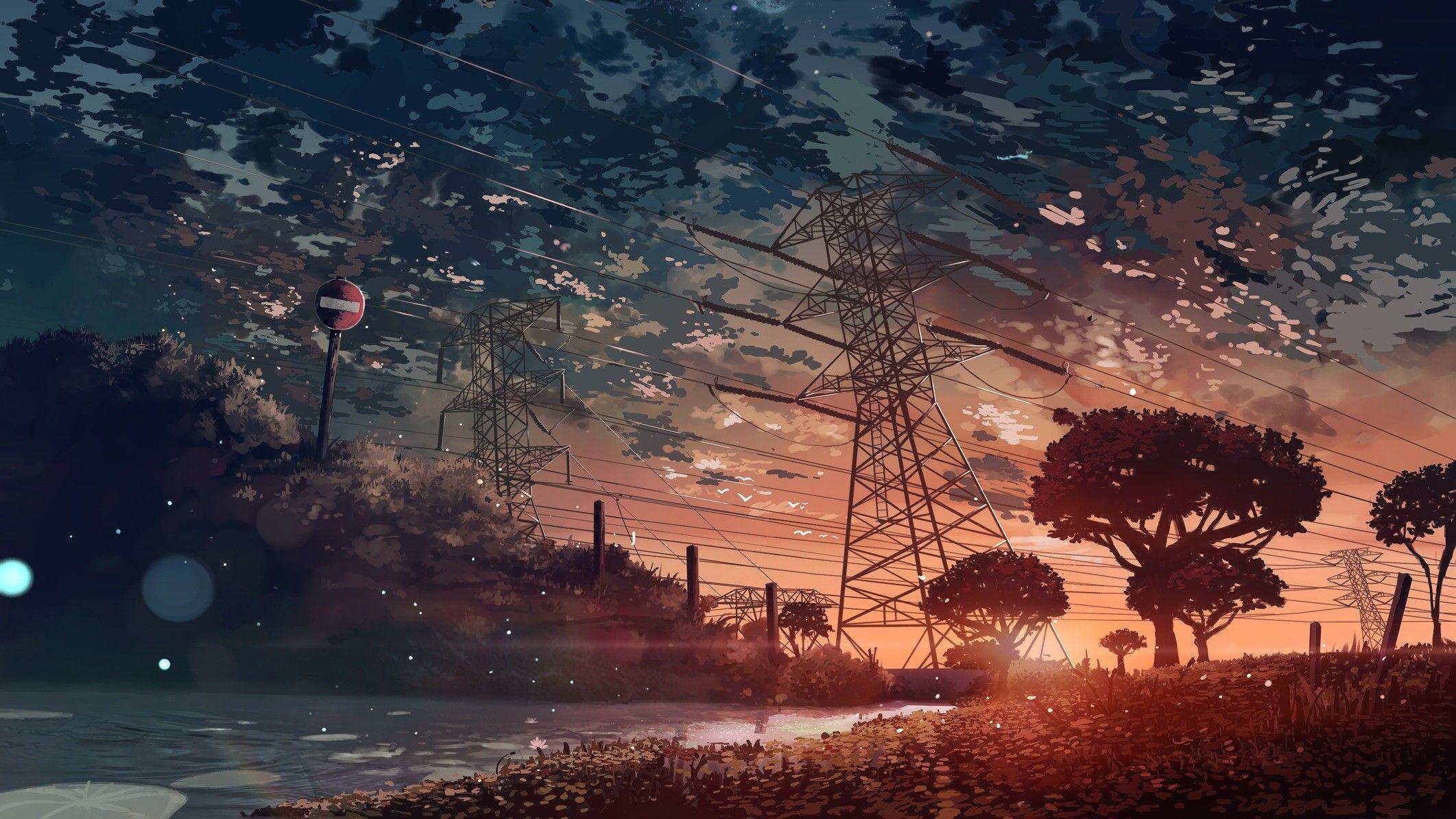 Anime Digital Art Wallpapers Top Free Anime Digital Art Backgrounds Wallpaperaccess