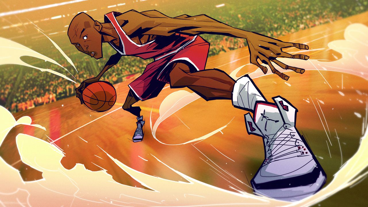 Cartoon Michael Jordan Wallpapers Top Free Cartoon Michael