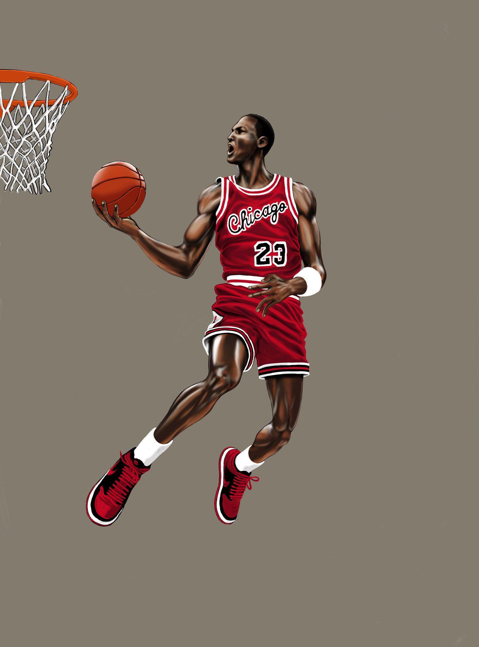 Cartoon Jordan Dunking Wallpapers Top Free Cartoon Jordan