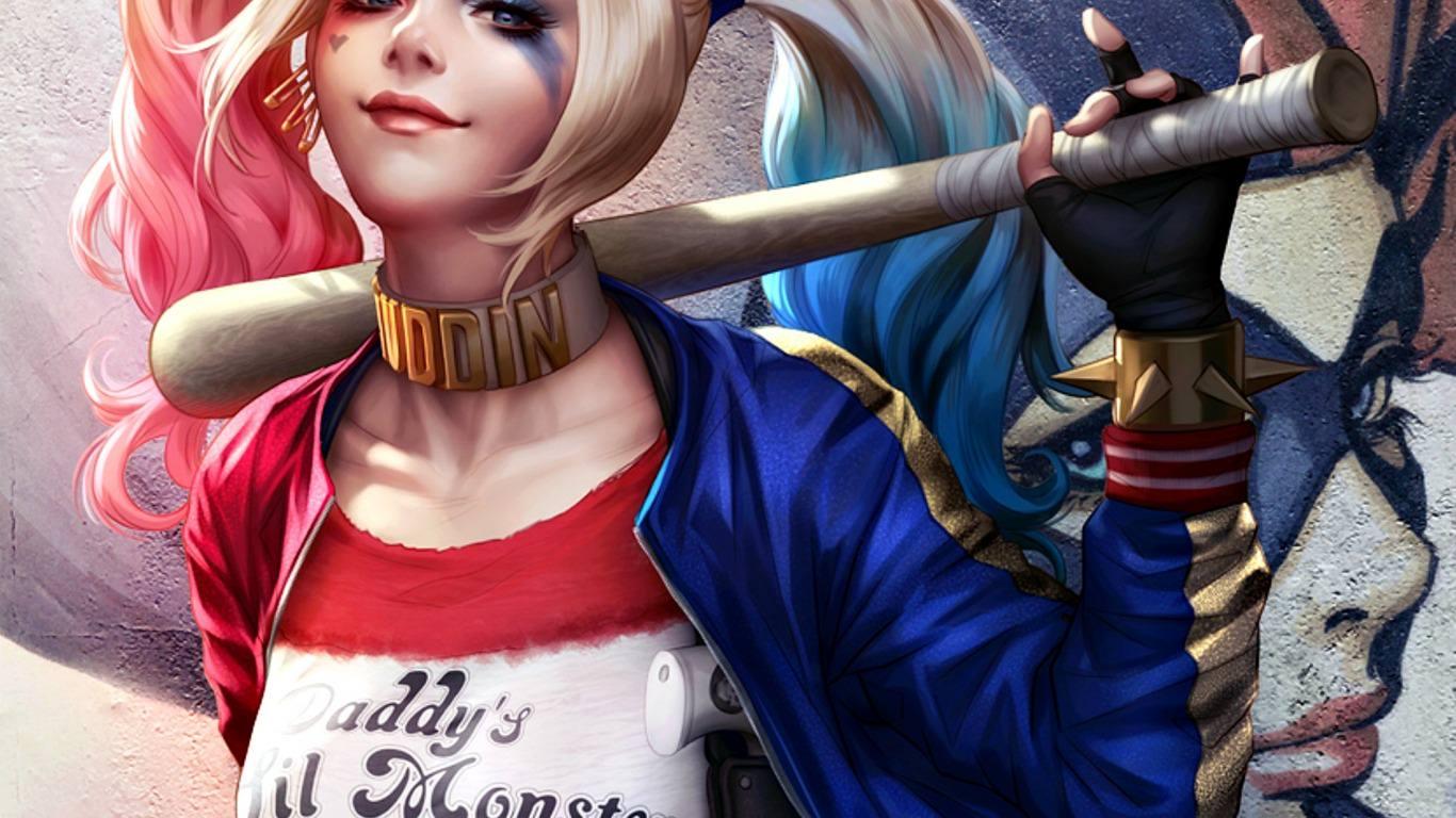 Harley Quinn Desktop Wallpapers Top Free Harley Quinn Desktop