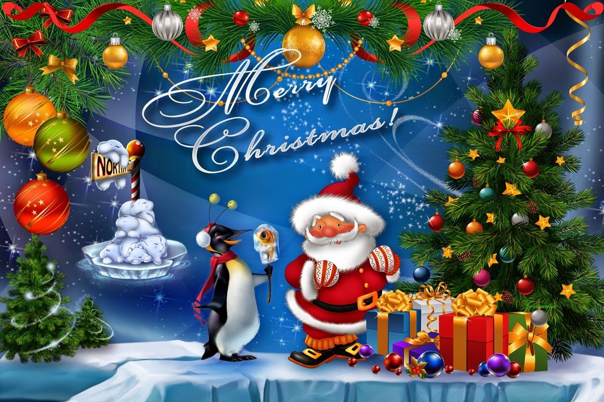 Cute Merry Christmas Wallpapers Top Free Cute Merry