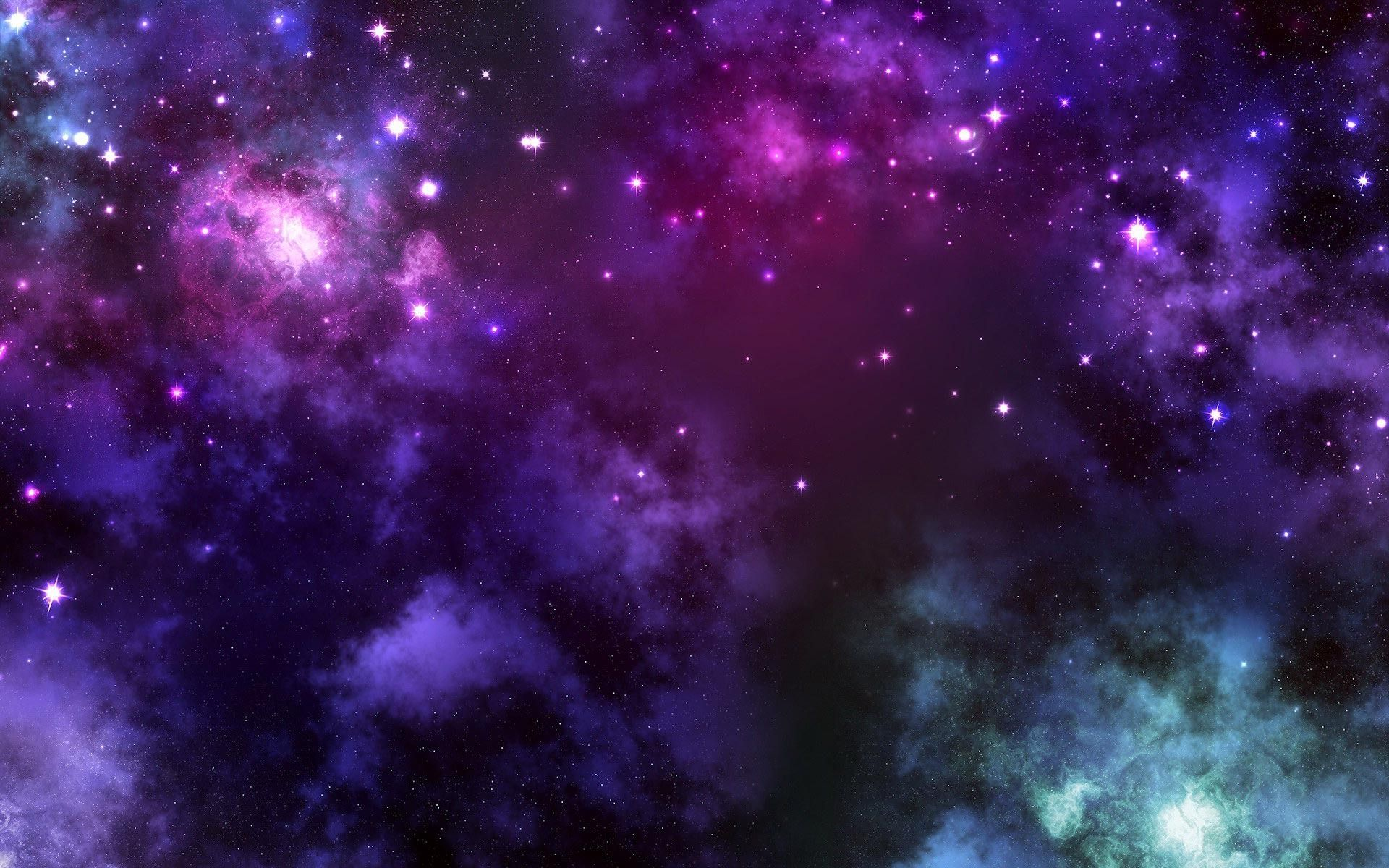 1191x670 Purple Space Galaxy Wallpaper Download 11403