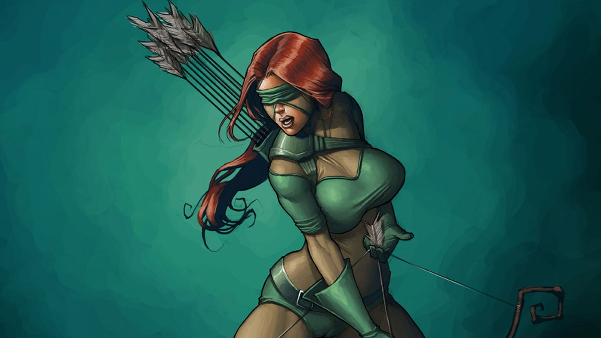Female Archer Wallpapers - Top Free Female Archer Backgrounds -  WallpaperAccess
