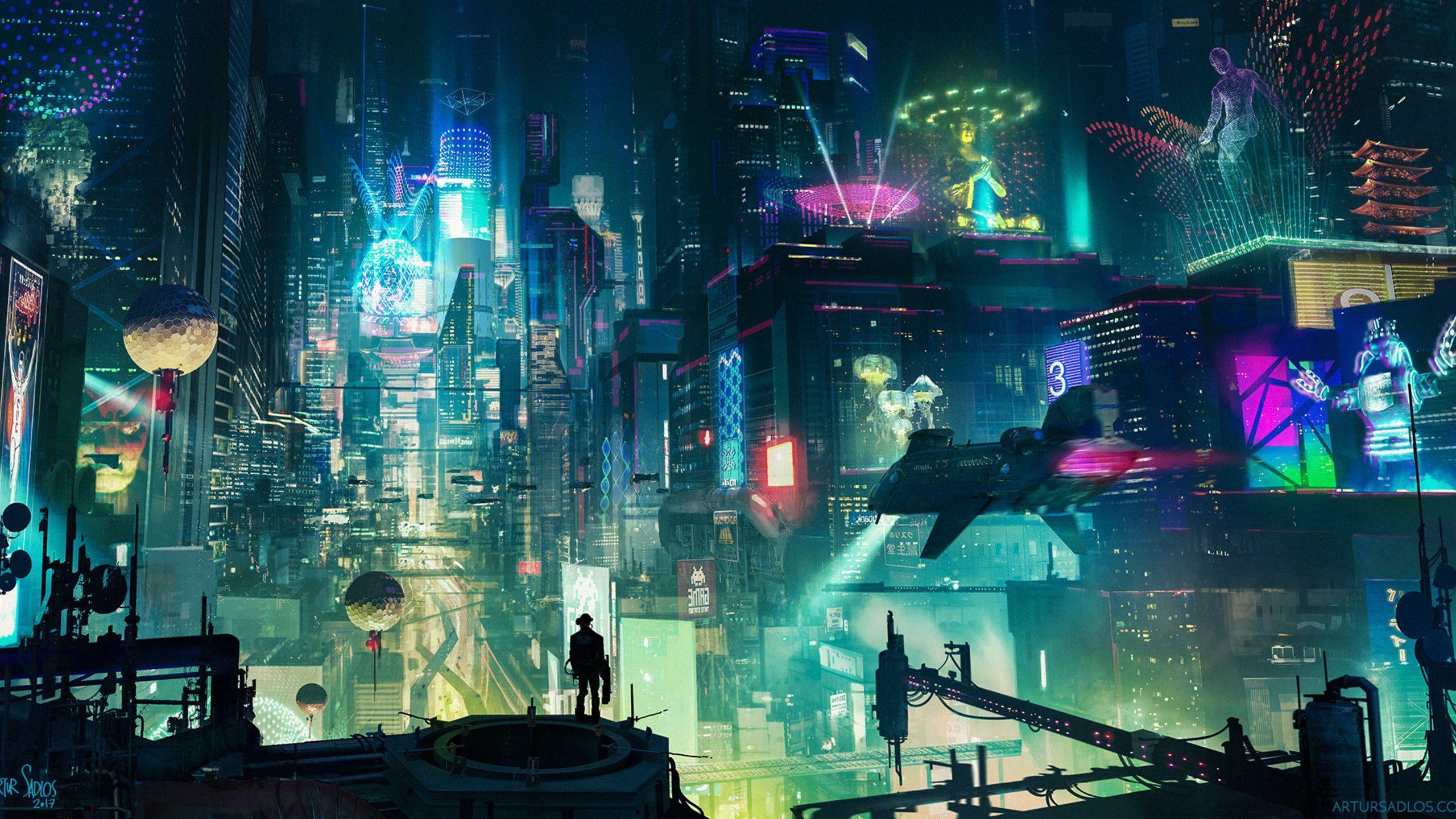 Cyberpunk Desktop Wallpapers Top Free Cyberpunk Desktop Backgrounds Wallpaperaccess