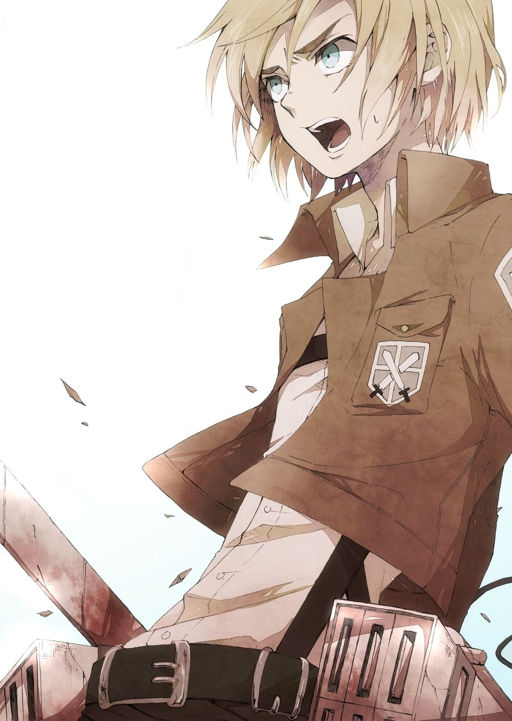 Attack On Titan Armin Wallpapers Top Free Attack On Titan Armin Backgrounds Wallpaperaccess