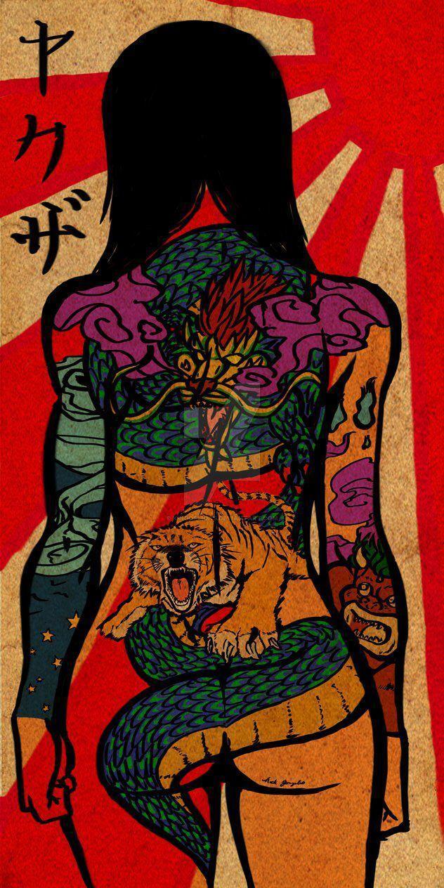 Japanese Yakuza Art Wallpapers Top Free Japanese Yakuza