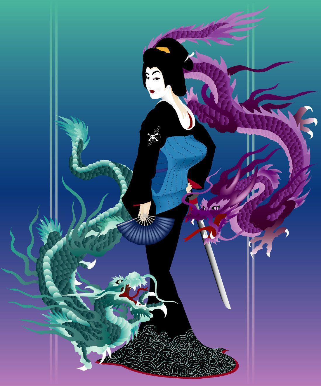 Deviantart Wallpaper: Top Free Yakuza Art Backgrounds