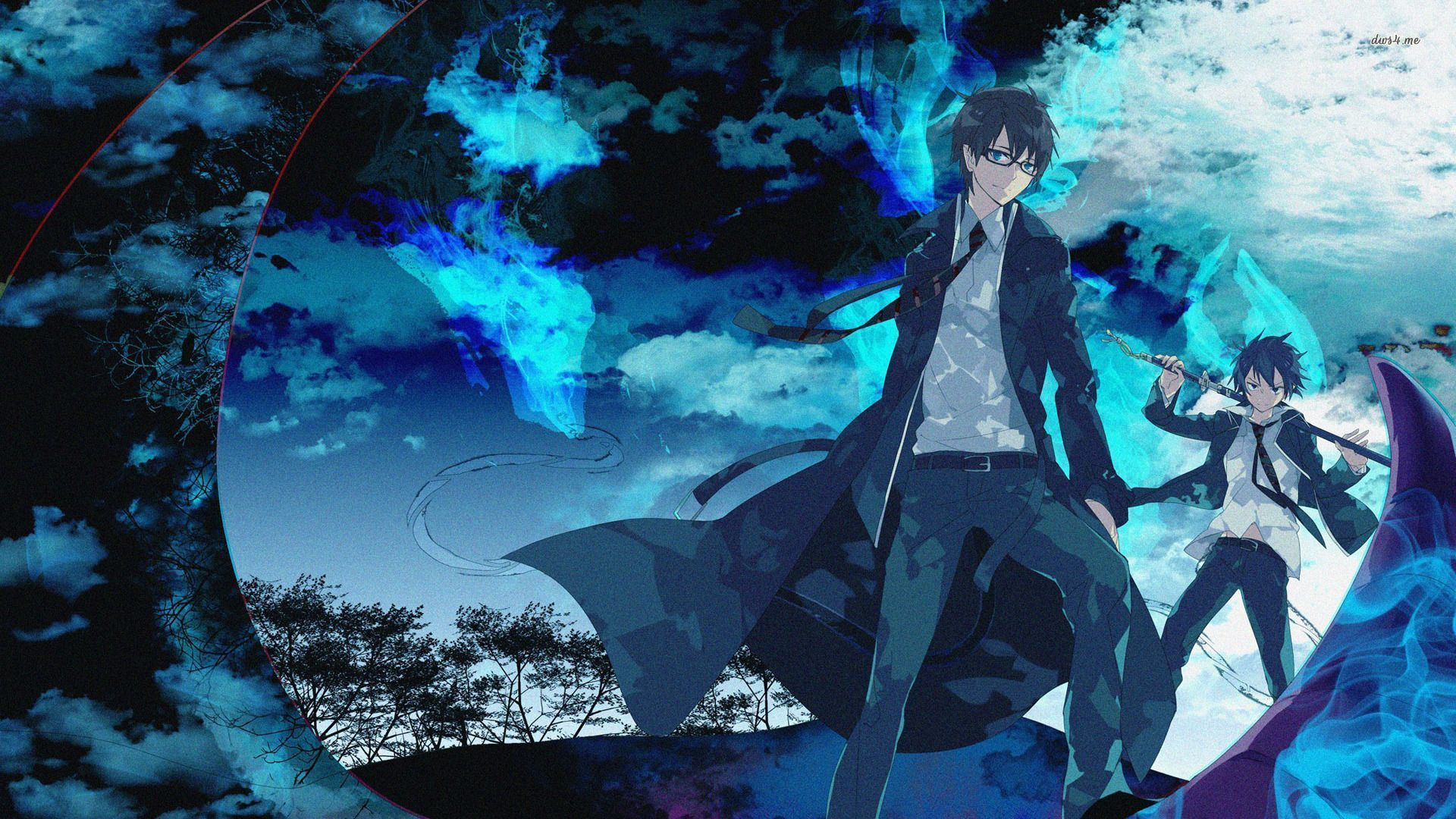 Anime Blue Wallpapers Top Free Anime Blue Backgrounds