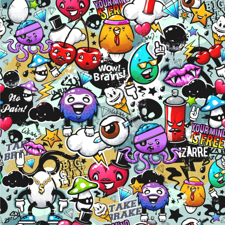 630+ Gambar Kartun Orang Grafiti Gratis