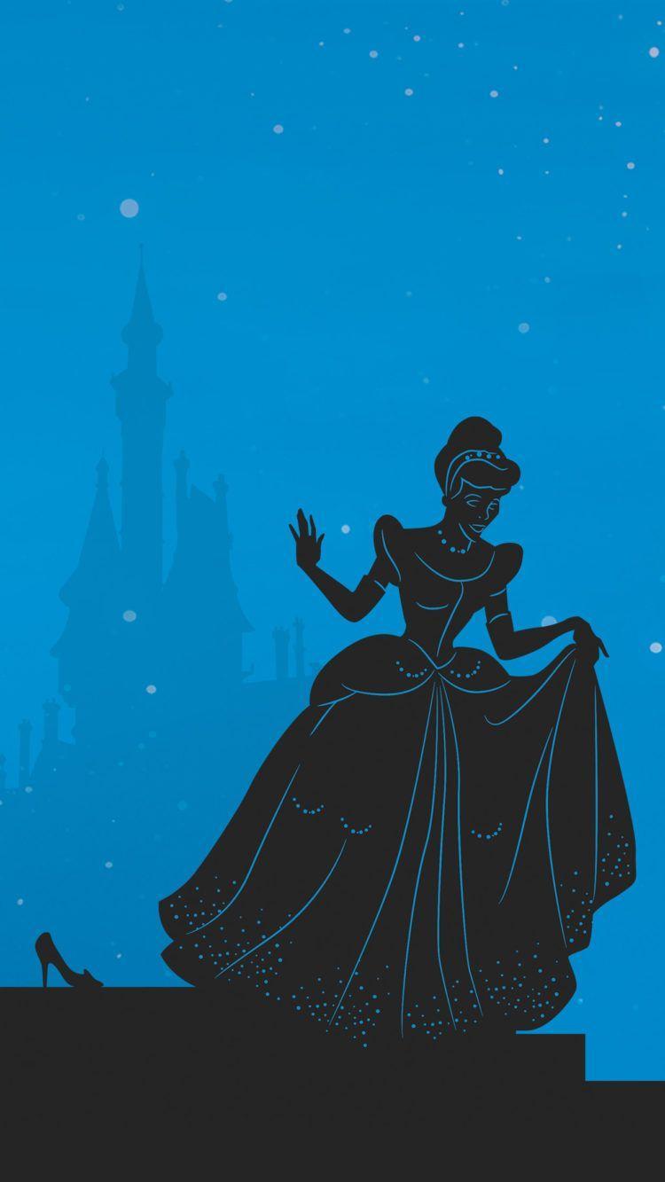 750x1333 Hình nền điện thoại công chúa Disney lấy cảm hứng từ cắt giấy này là vậy