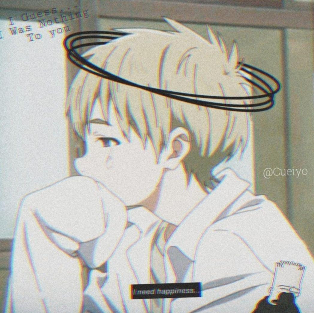 1048x1045 Aesthetic Anime Boy Hình nền dễ thương
