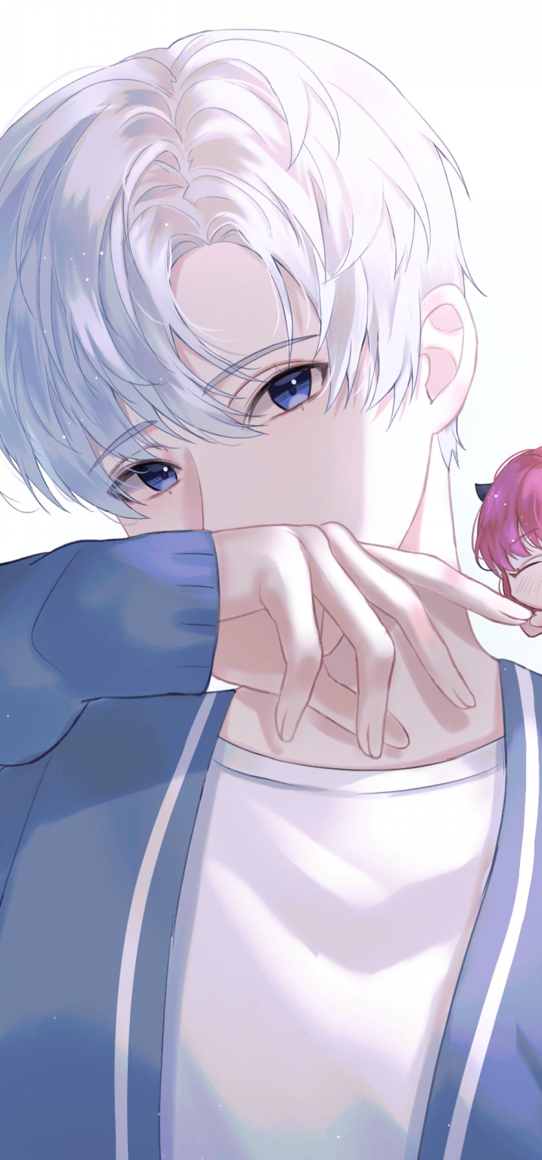 1080x2310 Tải xuống 1080x2310 Anime Boy And Girl, Chibi, Hình nền tình bạn dễ thương cho Honor View 20