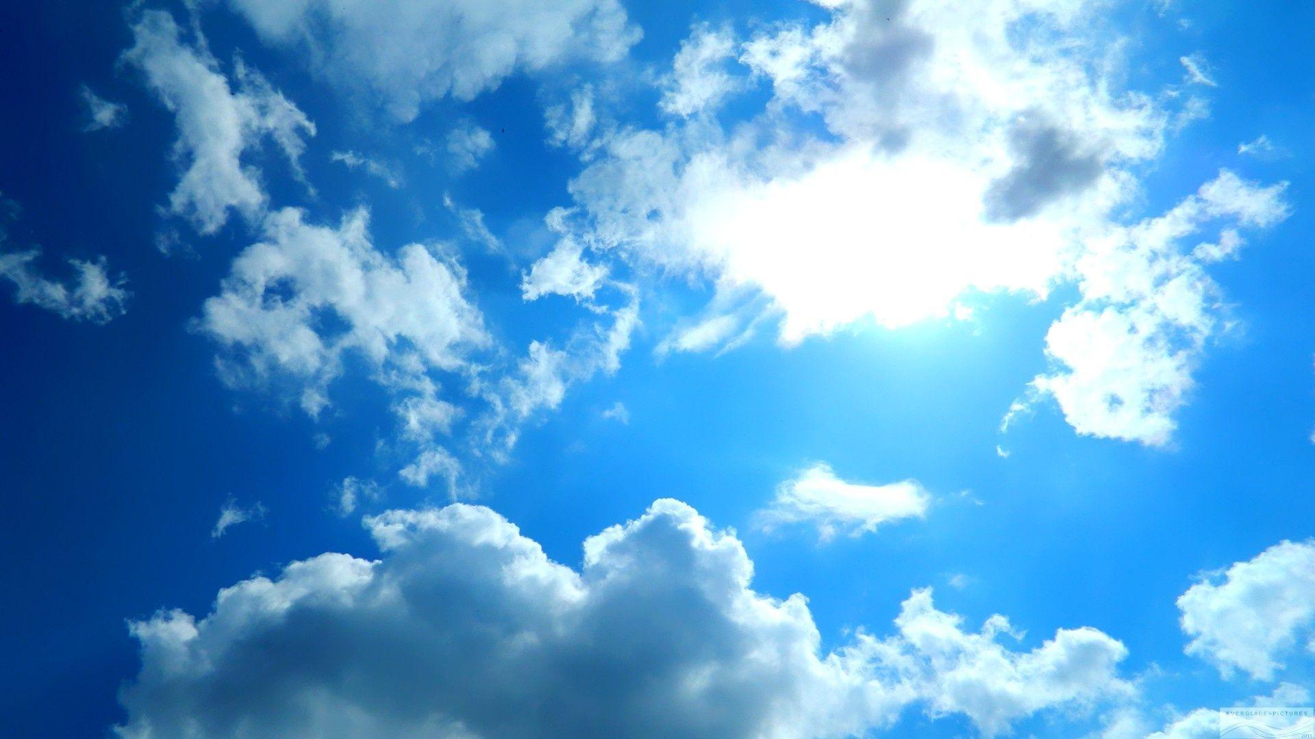 Blue Sky Desktop Wallpapers Top Free Blue Sky Desktop Backgrounds Wallpaperaccess
