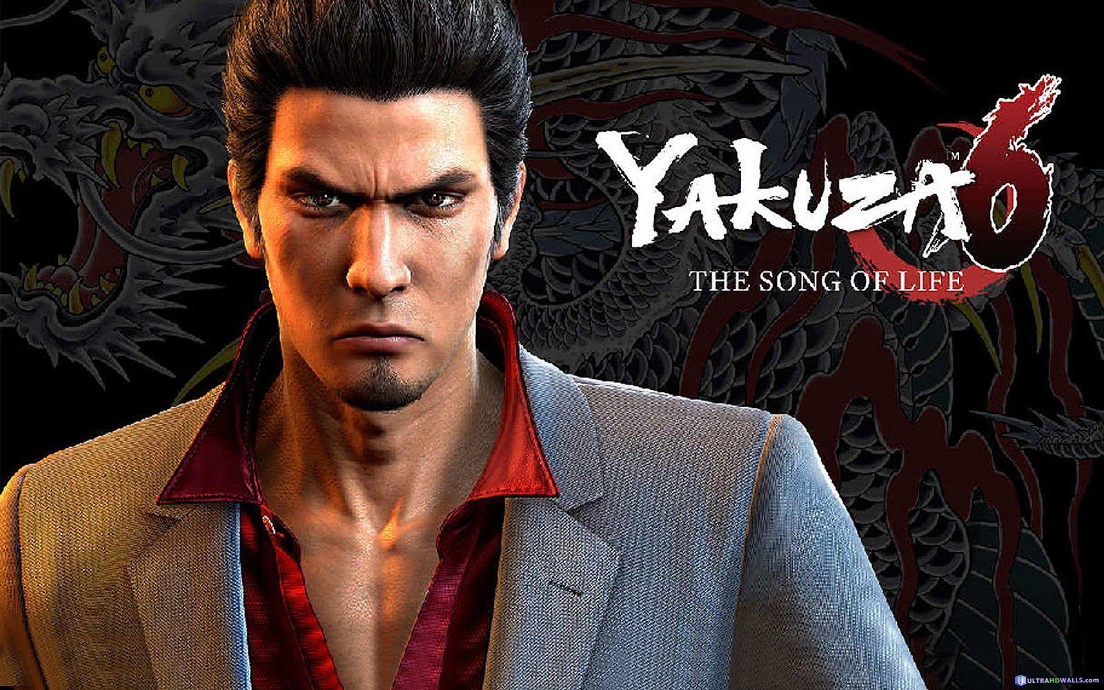 Yakuza 6 Wallpapers - Top Free Yakuza 6 Backgrounds - WallpaperAccess