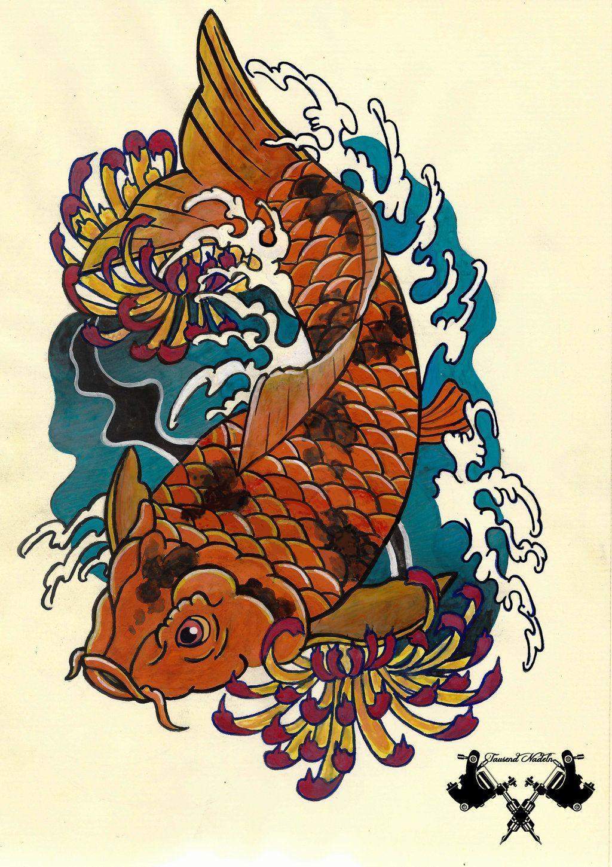 Japanese Koi And Dragon Wallpapers Top Free Japanese Koi