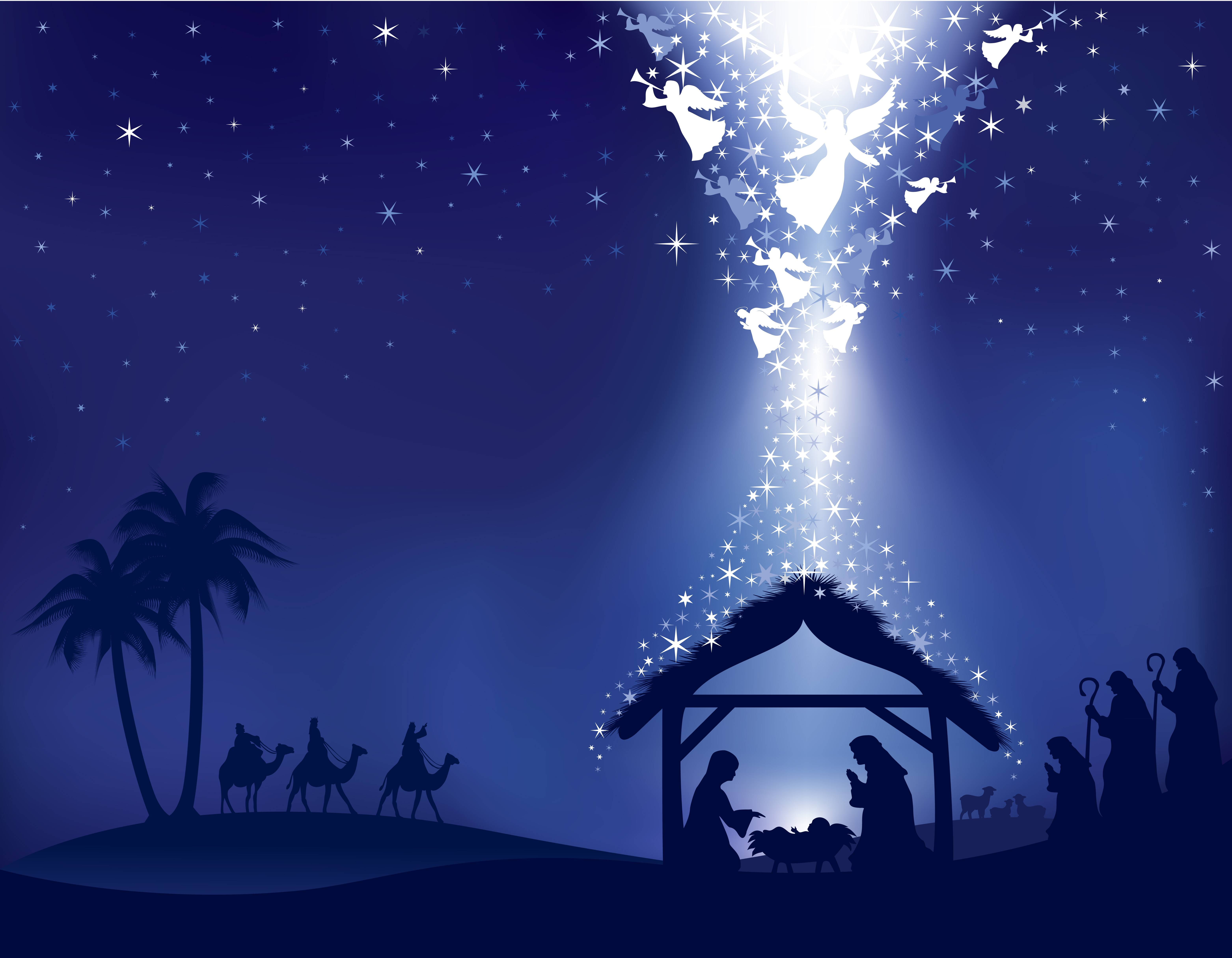 Christmas Crib Images Hd.Christian Christmas Nativity Wallpapers Top Free Christian