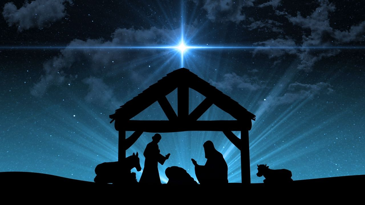 christian christmas nativity wallpapers