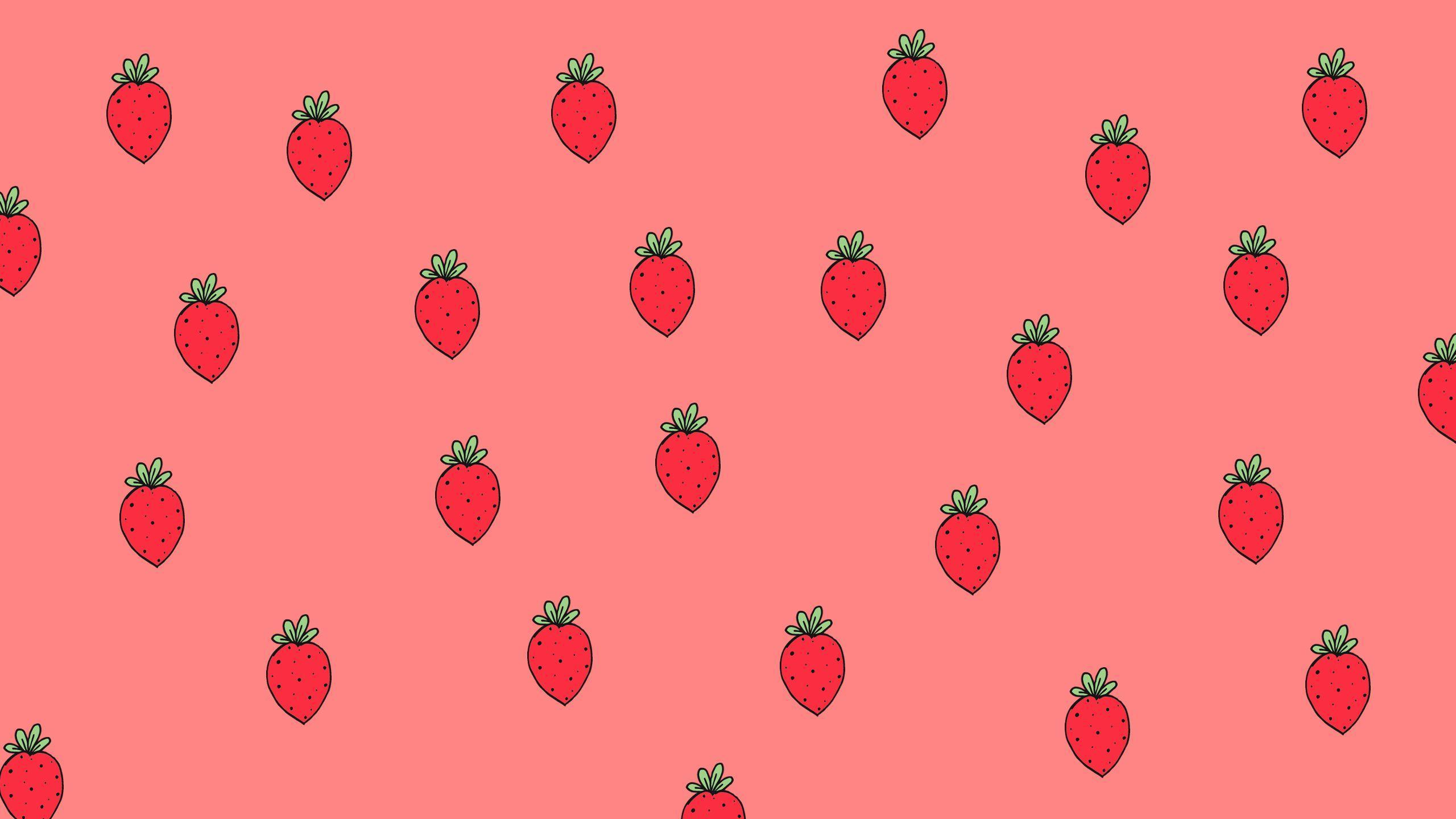 Strawberry Desktop Wallpapers Top Free Strawberry Desktop Backgrounds Wallpaperaccess