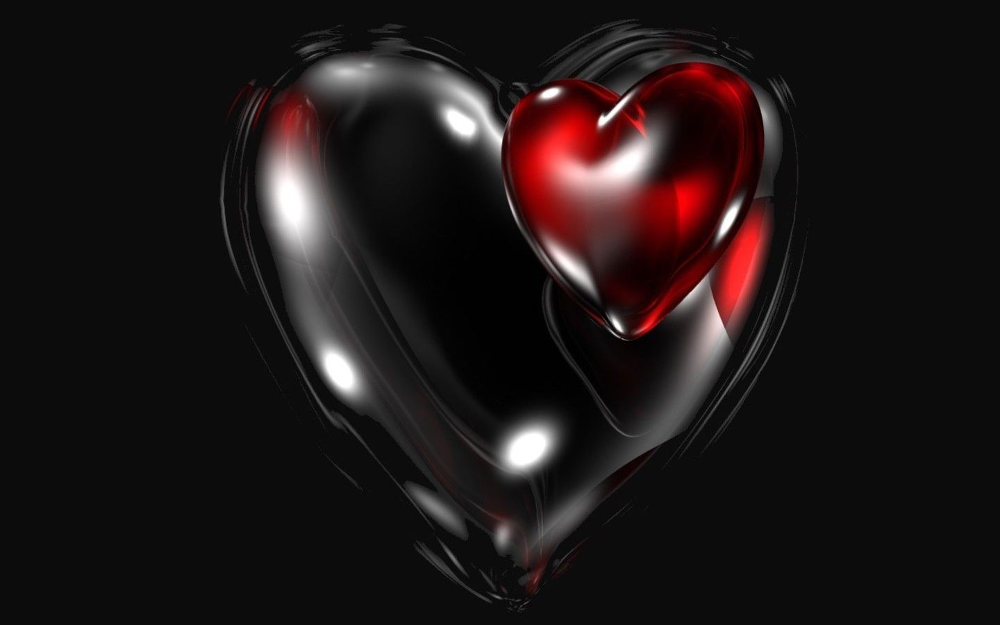 Red And Black Heart Wallpapers Top Free Red And Black Heart Backgrounds Wallpaperaccess