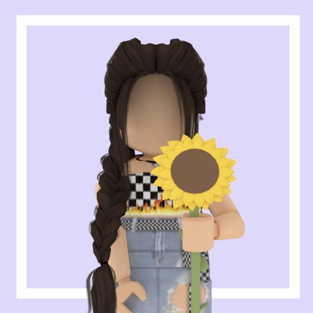 1229x1229 Gfx Roblox Girl Aesthetic Black - Gfx Roblox Girl Aesthetic in 2020. Hoạt hình Roblox, Roblox vui nhộn, ảnh Roblox