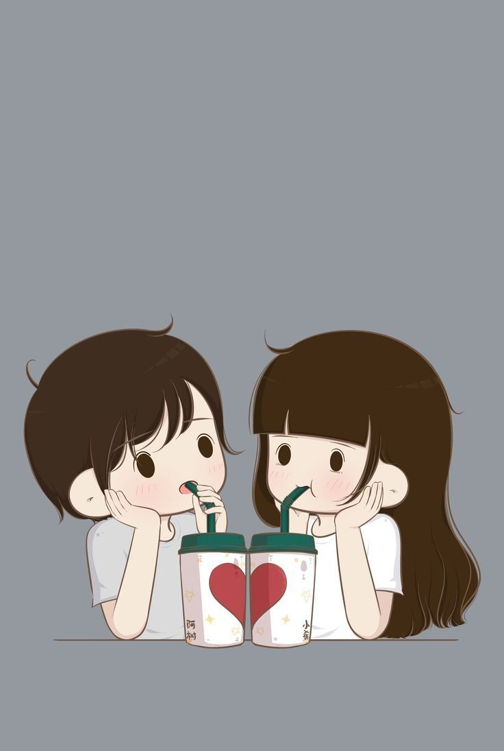Cute Couple Cartoon Wallpapers Top Free Cute Couple Cartoon Backgrounds Wallpaperaccess