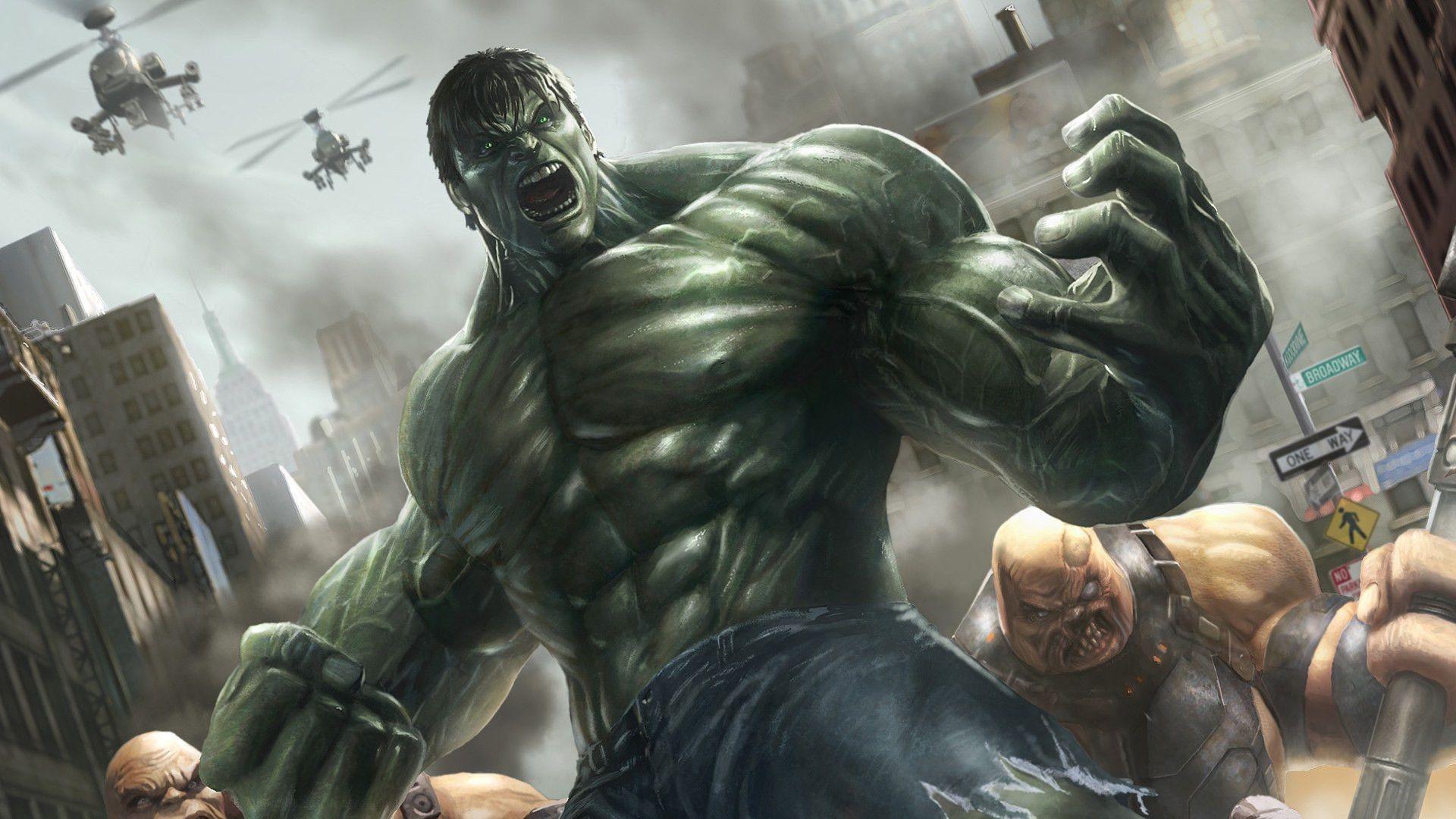 Amazing Hulk Game Wallpaper