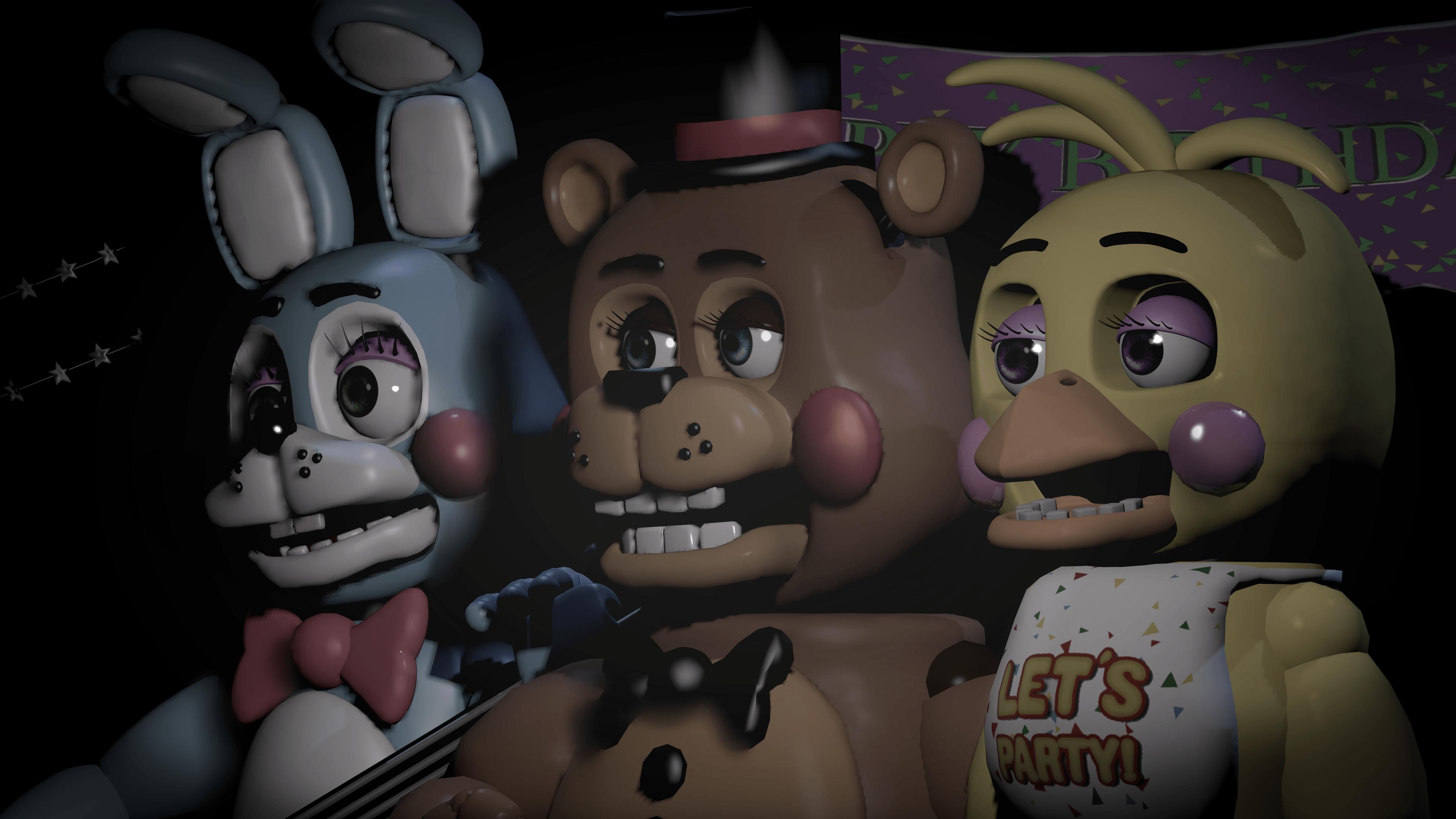 Five Nights at Freddy/'s image pour le g\u00e2teau