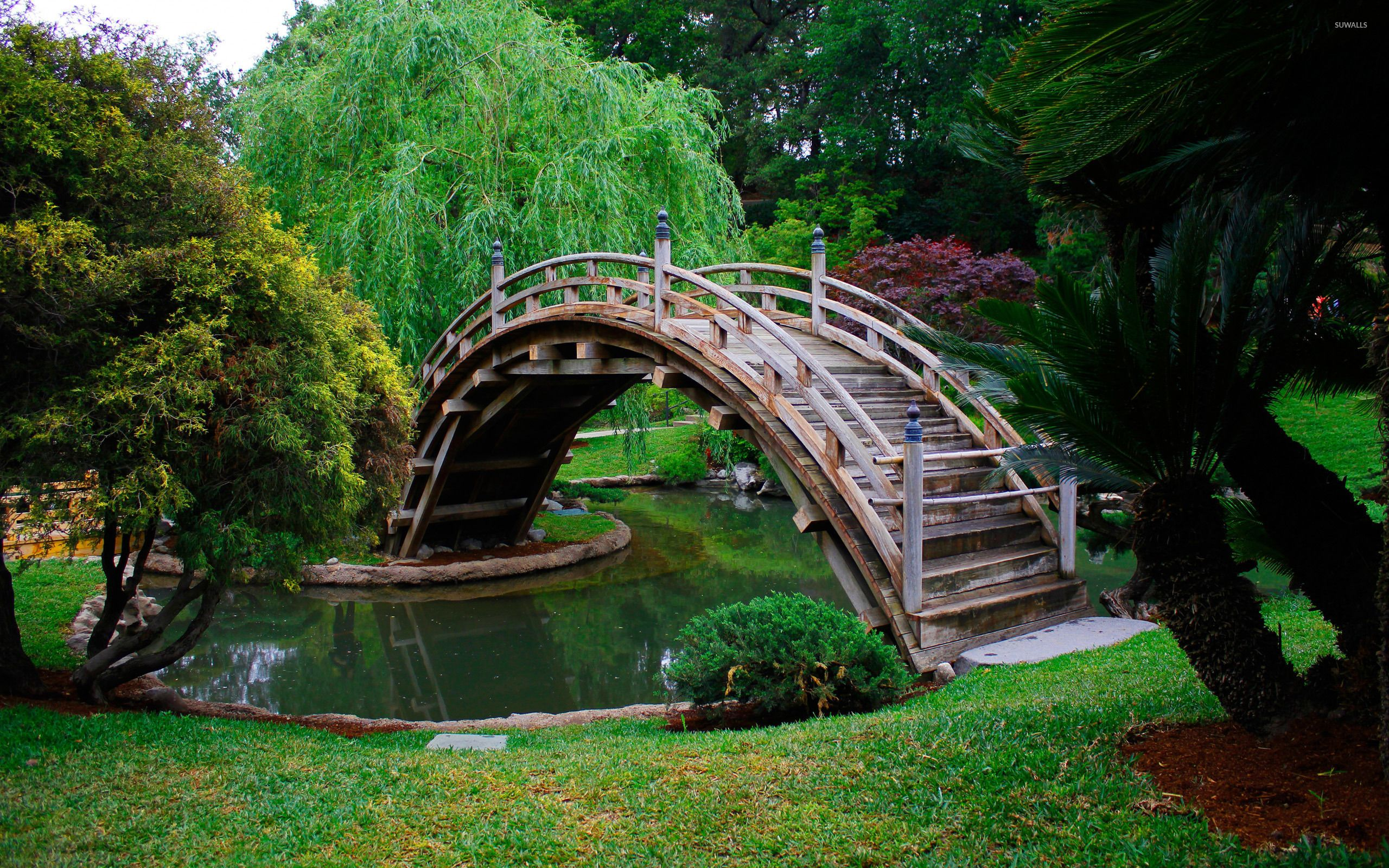 Japanese Garden Wallpapers: Japanese Bridge Wallpapers