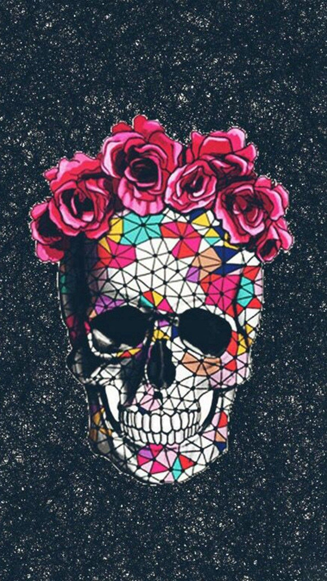 Floral Skull Iphone 6 Wallpapers Top Free Floral Skull Iphone 6