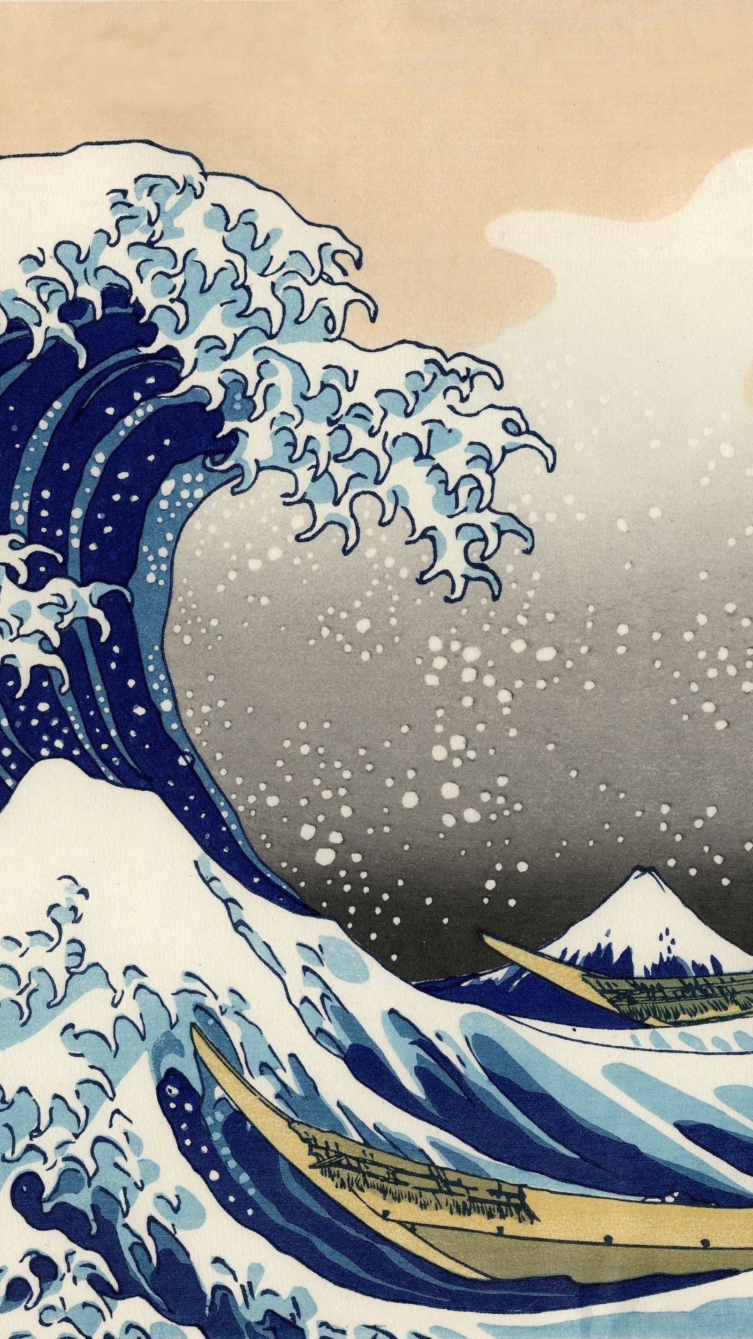 The Wave Japanese Painting Wallpapers - Top Free The Wave