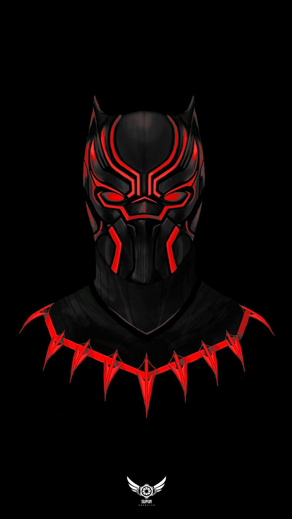 Red Black Panther Wallpapers Top Free Red Black Panther Backgrounds Wallpaperaccess