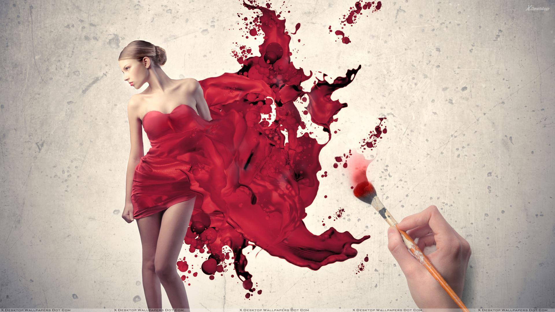Artistic Red HD Wallpapers - Top Free ...