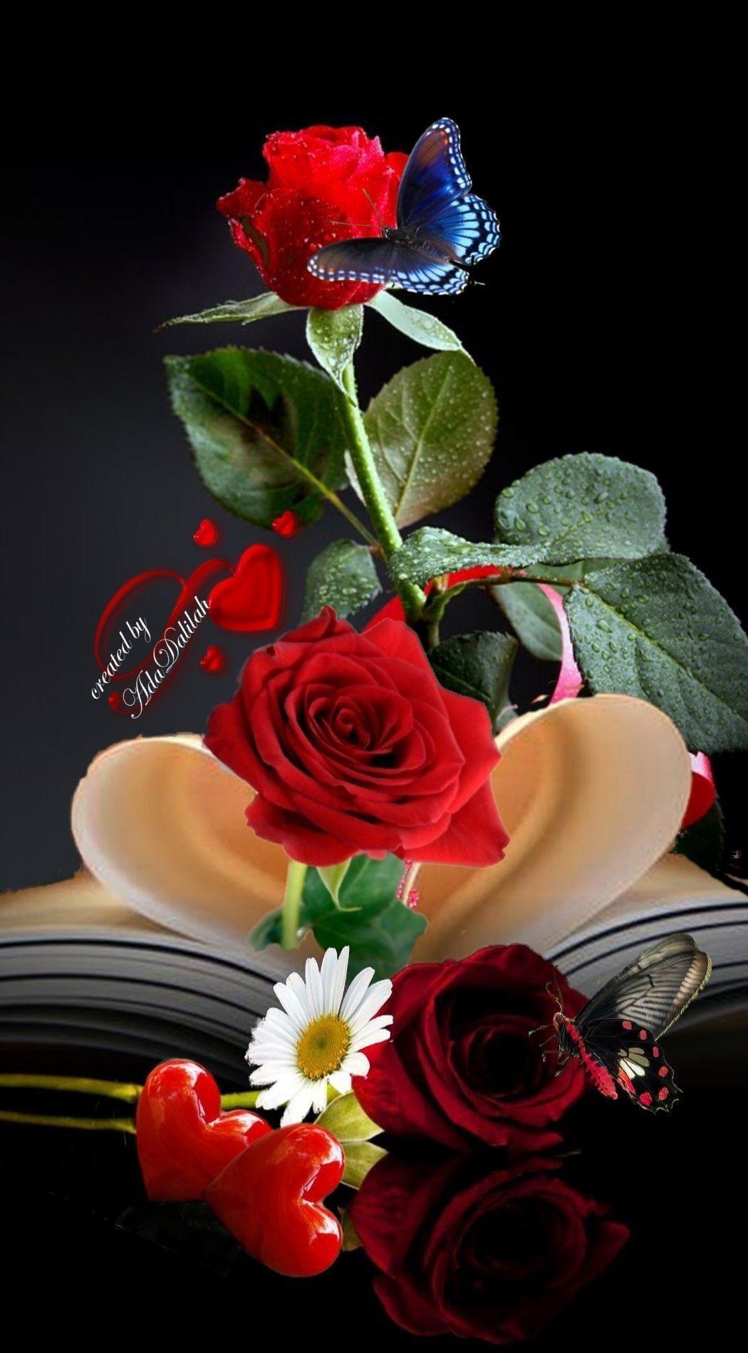 Romantic Love Flowers Wallpapers Top Free Romantic Love Flowers Backgrounds Wallpaperaccess
