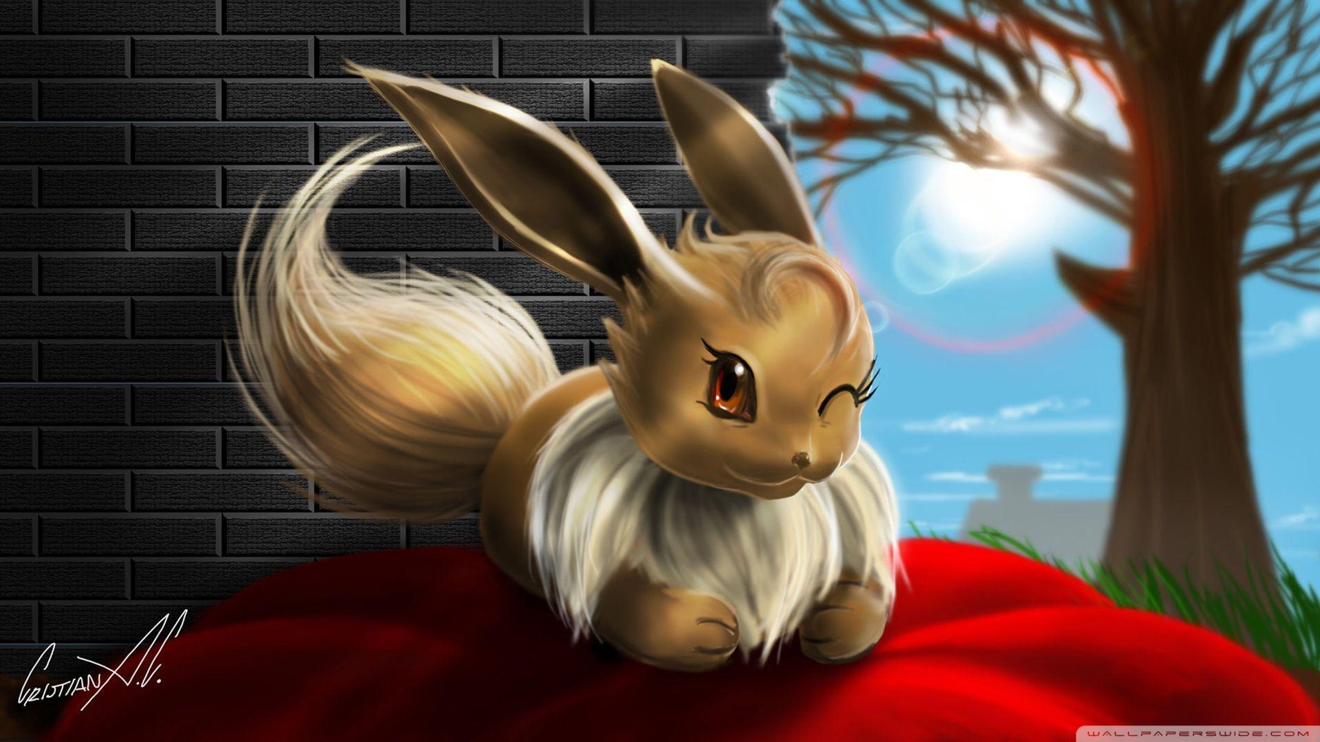 Eevee Hd Wallpapers Top Free Eevee Hd Backgrounds Wallpaperaccess